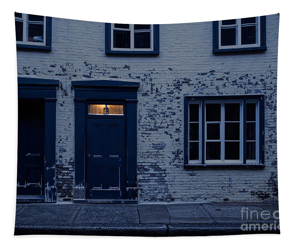 Light Tapestry featuring the photograph I'll Leave The Light On For You by Edward Fielding