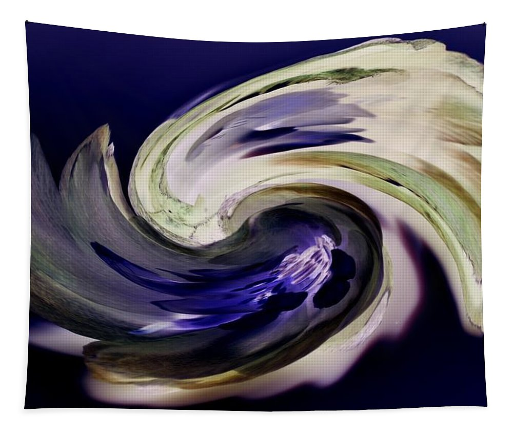 Abstract Tapestry featuring the photograph Incana Paint by Paulina Roybal