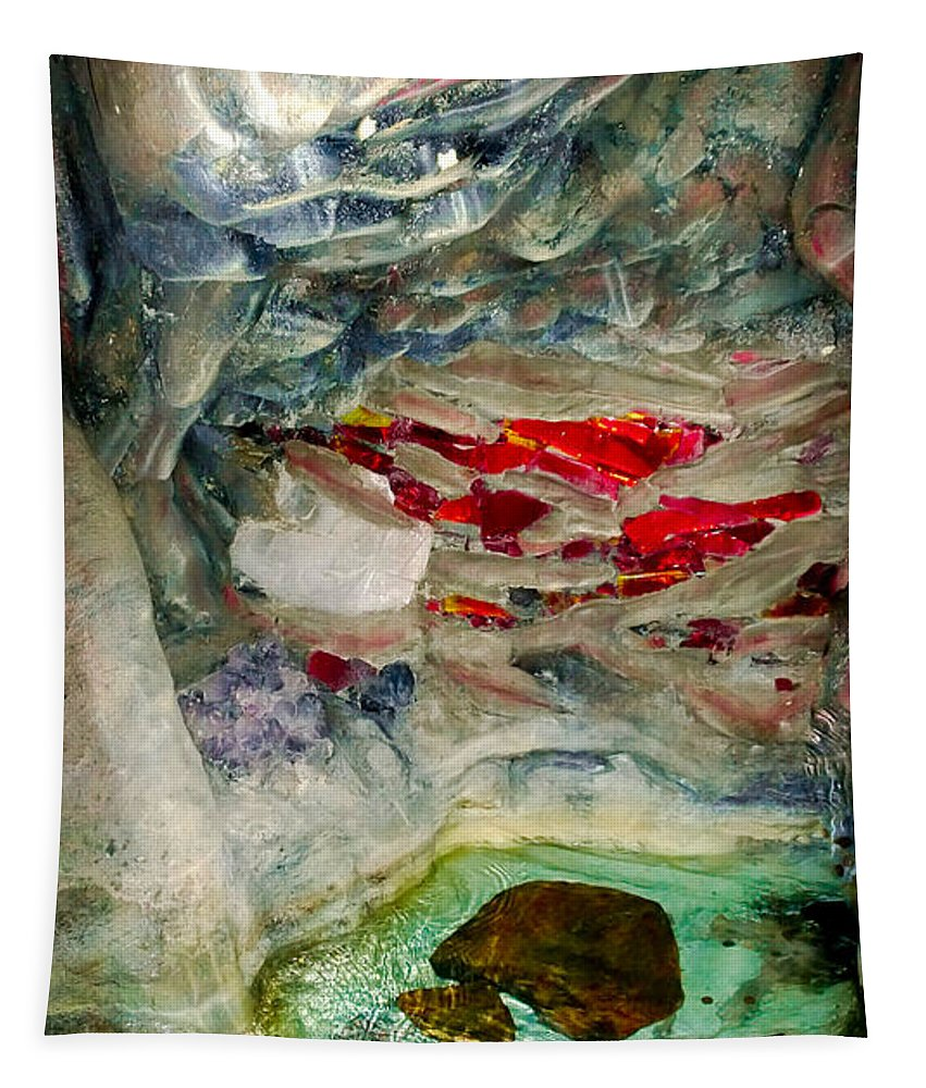 Caves Tapestry featuring the photograph Inner Earth by Karen Wiles