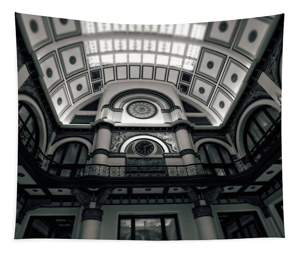 Union Station Hotel Tapestry featuring the photograph Inside Union Station by Dan Sproul