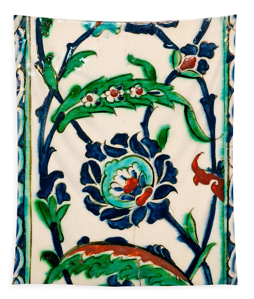 Istanbul Tapestry featuring the photograph Iznik 20 by Rick Piper Photography