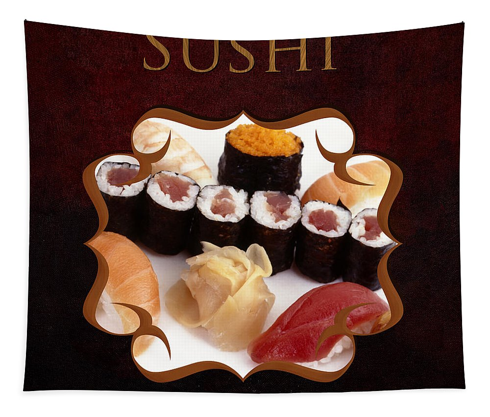 Iris Holzer Richardson Tapestry featuring the photograph Japanese Cuisine Gallery by Iris Richardson