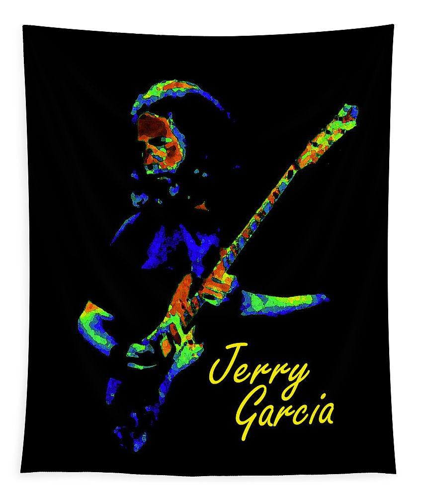 Jerry Garcia Tapestry featuring the photograph Jerome 2 by Ben Upham