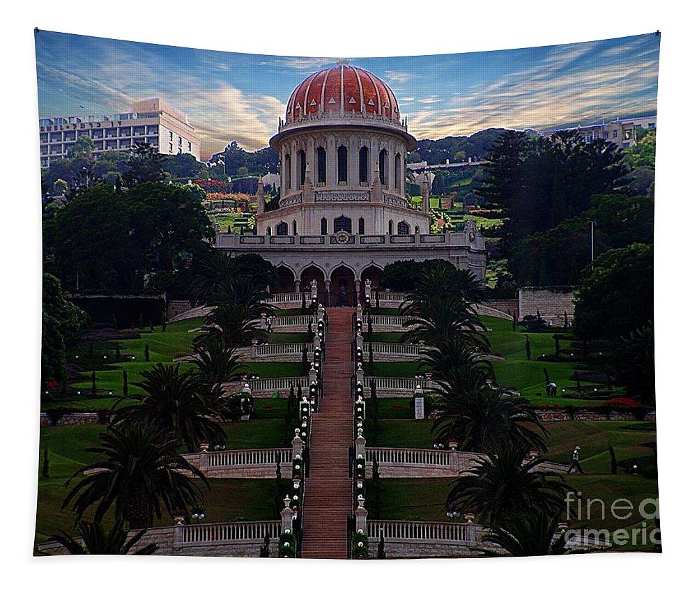 Jerusalem Tapestry featuring the photograph Jerusalem 2 by Ben Yassa