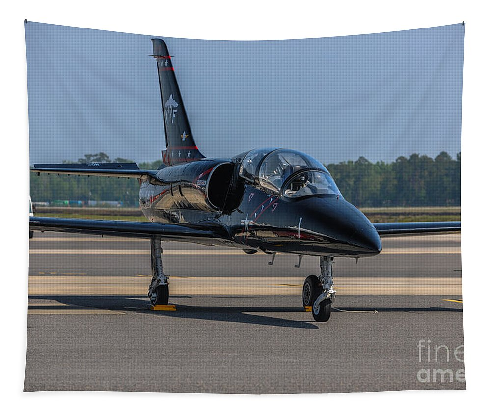 Jet Tapestry featuring the photograph Jet by Dale Powell