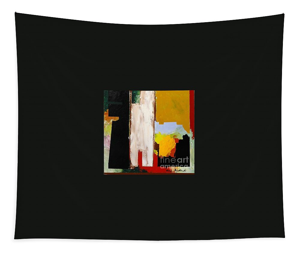 Landscape Tapestry featuring the painting Jordan Park 511 by Allan P Friedlander