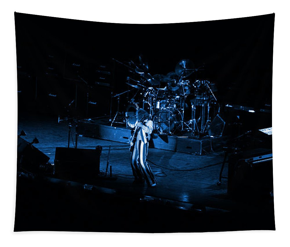 Jethro Tull Tapestry featuring the photograph Jt #10 In Blue by Ben Upham