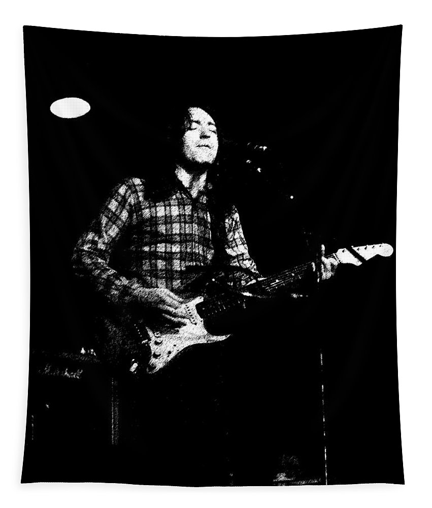 Guitarists Tapestry featuring the photograph Kent #133 Enhanced Gp by Ben Upham