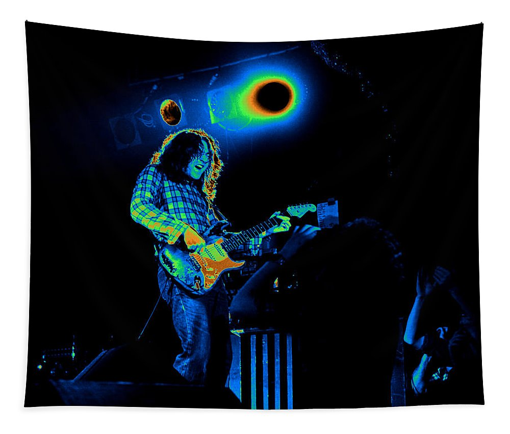 Guitarists Tapestry featuring the photograph Kent #83 In Cosmicolors by Ben Upham