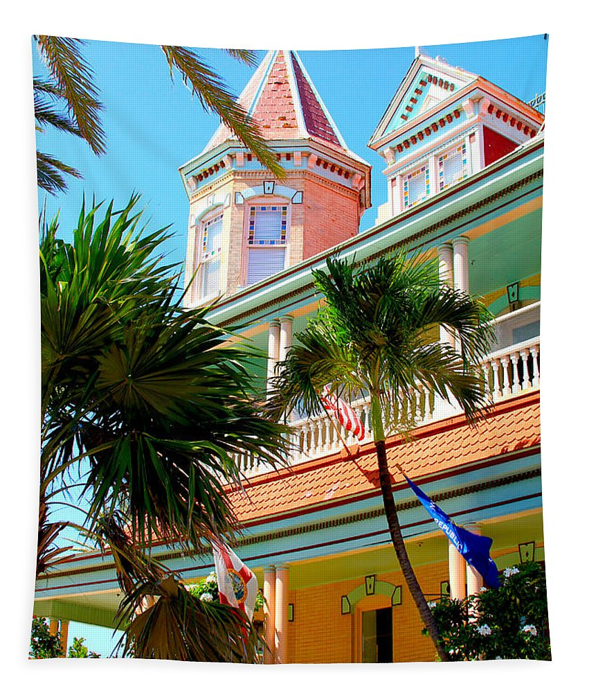 Key West Tapestry featuring the photograph Key West by Carey Chen