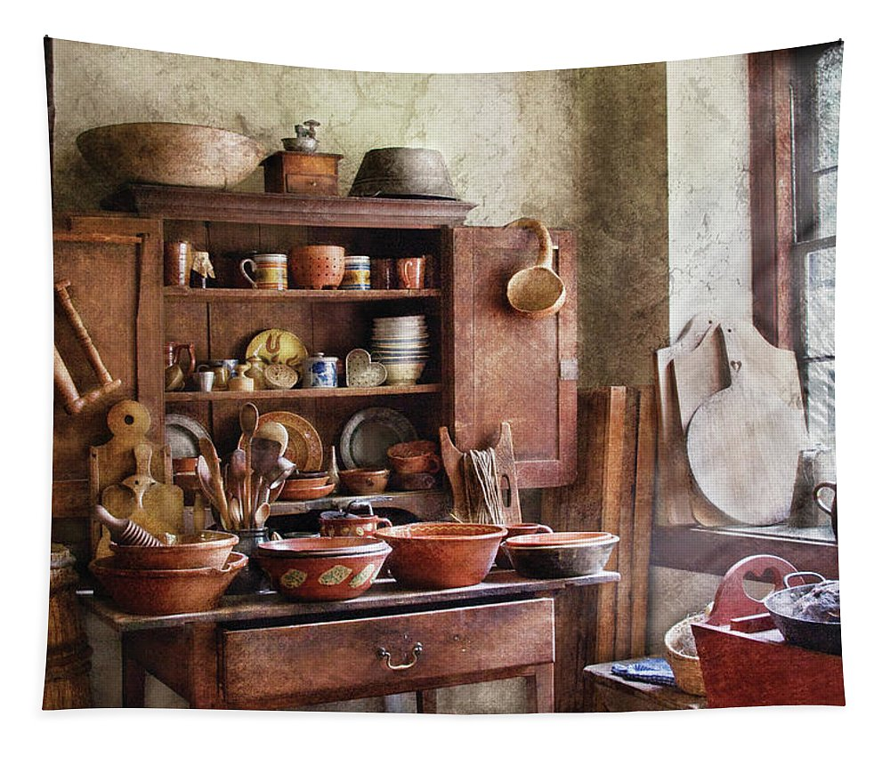 Savad Tapestry featuring the photograph Kitchen - For The Master Chef by Mike Savad