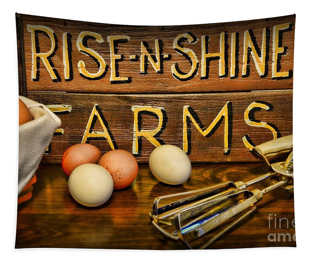 Paul Ward Tapestry featuring the photograph Kitchen Rise And Shine by Paul Ward