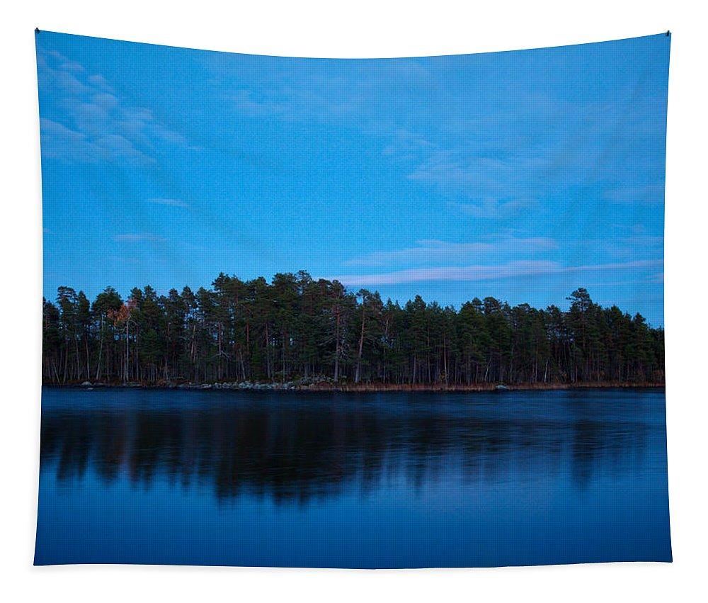 Finland Tapestry featuring the photograph Koirajarvi by Jouko Lehto