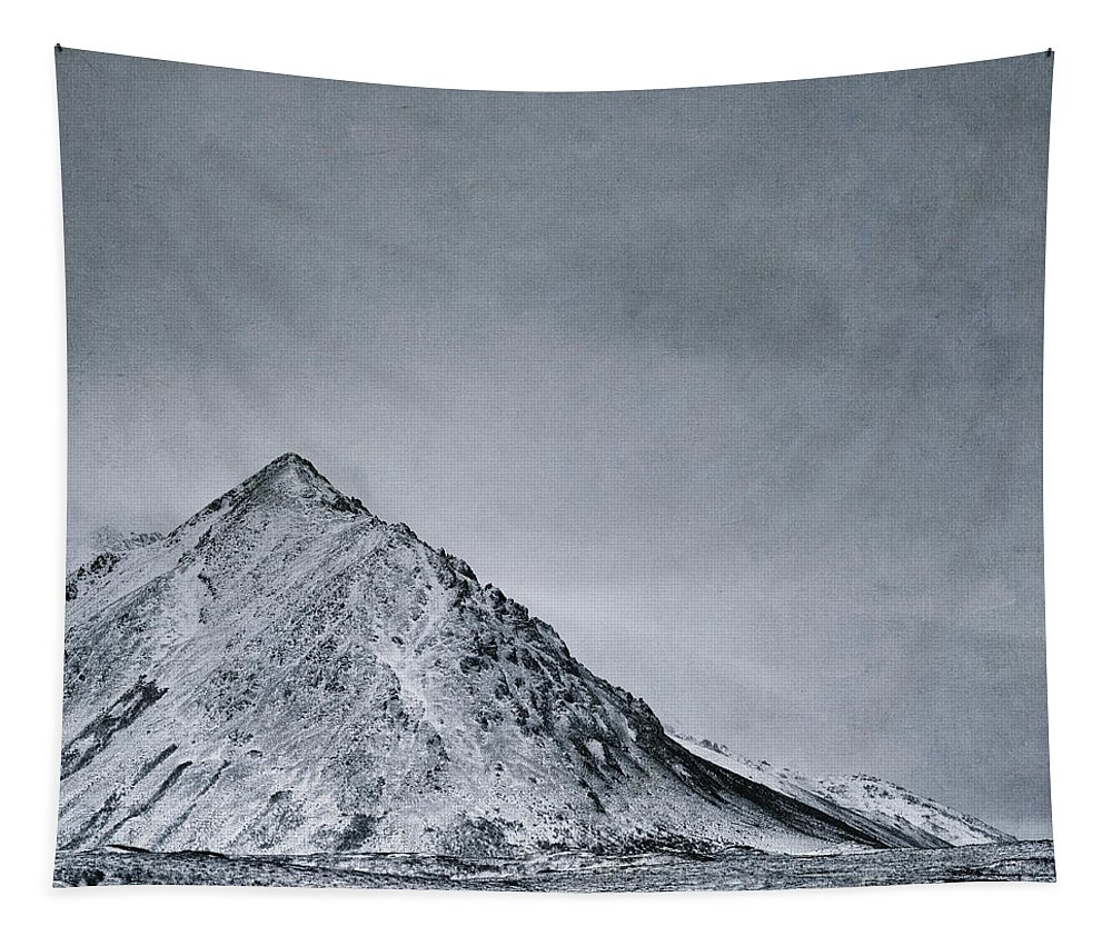 Mountain Tapestry featuring the photograph Land Shapes 9 by Priska Wettstein