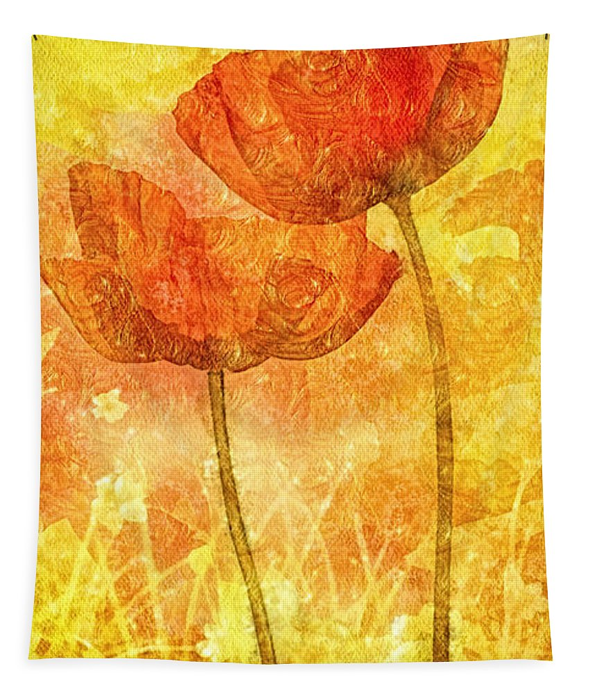 Let Me Love You Tapestry featuring the painting Let Me Love You by Mo T