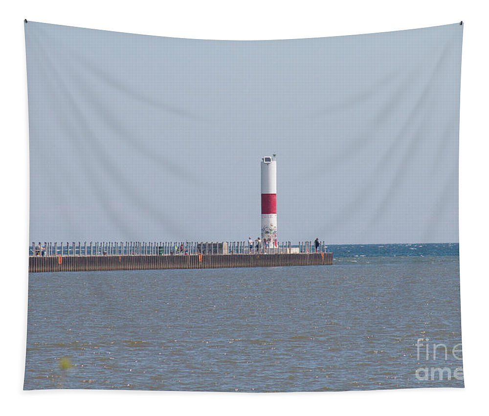 Lighthouse Tapestry featuring the photograph Lighthouse by William Norton