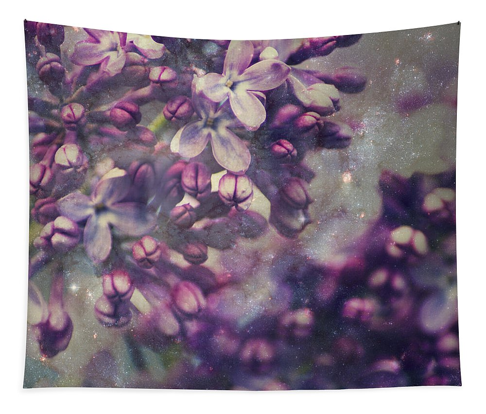 Purple Lilac Tapestry featuring the photograph Lilac by Yulia Kazansky