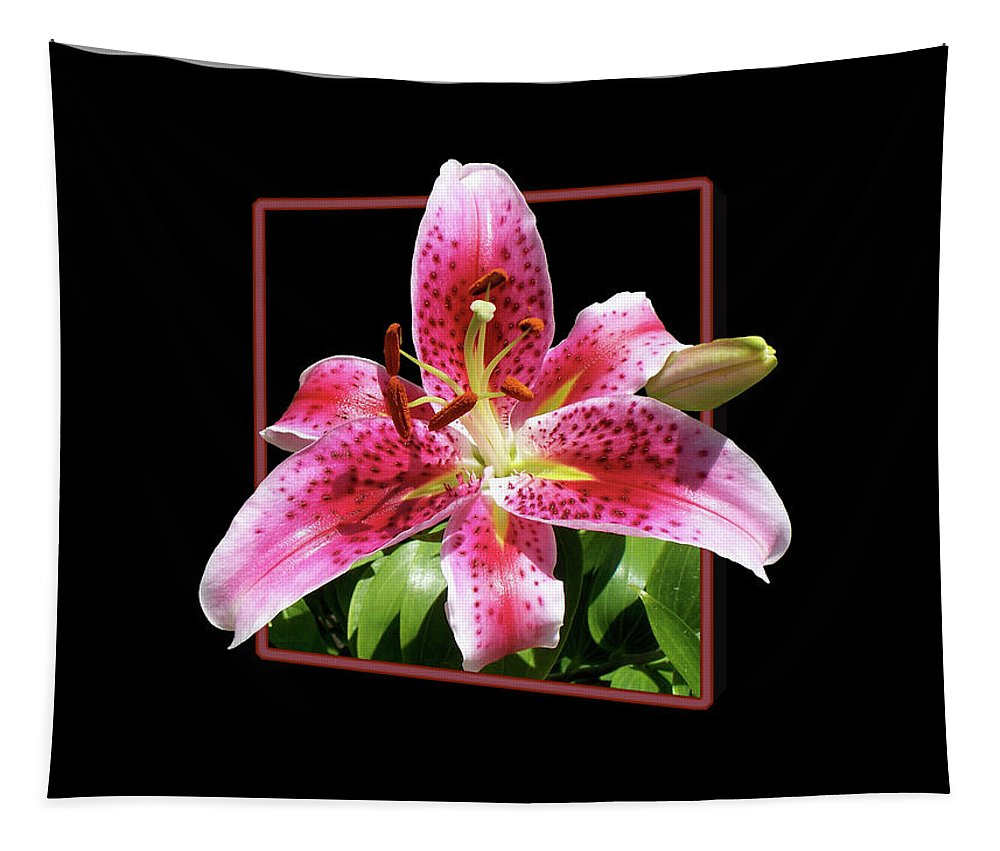 Flower Tapestry featuring the photograph Lilly Ready To Serve by Thomas Woolworth