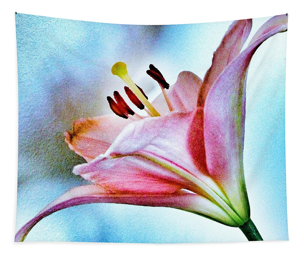 Lily Tapestry featuring the photograph Lily by Marianna Mills