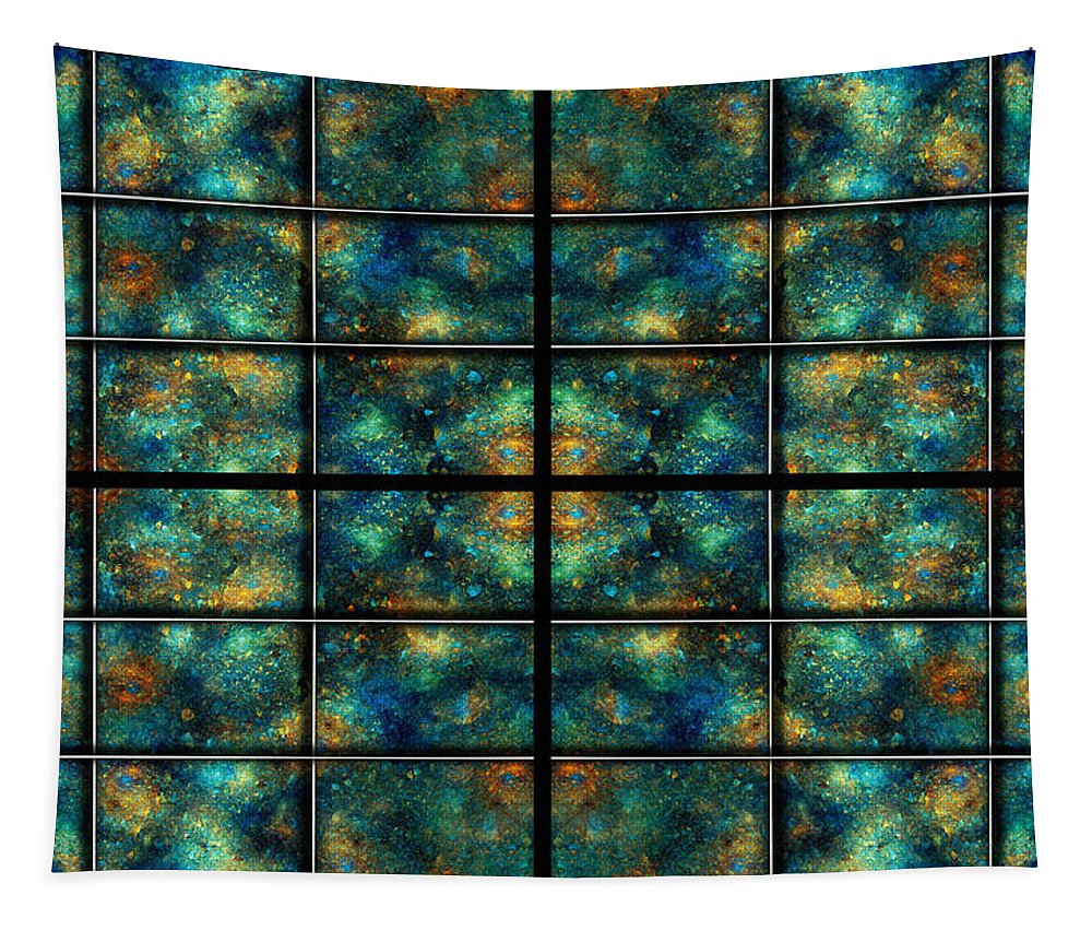 Star Tapestry featuring the digital art Limitless Night Sky by Betsy Knapp