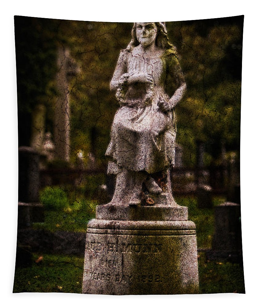 New Jersey Tapestry featuring the photograph Little Maud by Jerry Fornarotto
