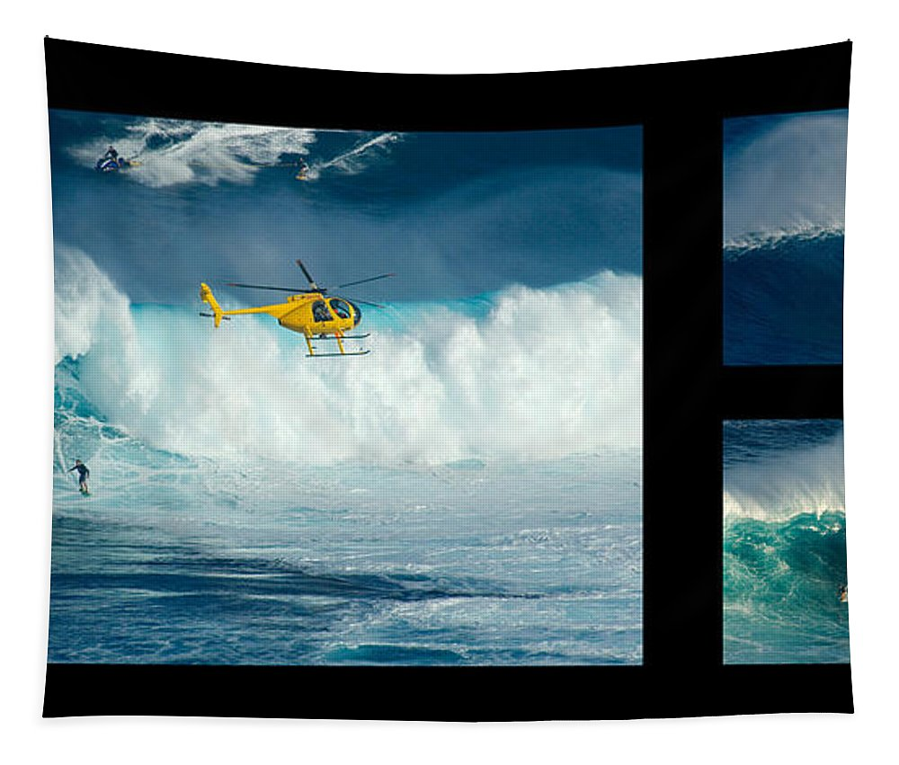 Surfing Tapestry featuring the photograph Living The Dream No Caption by Bob Christopher