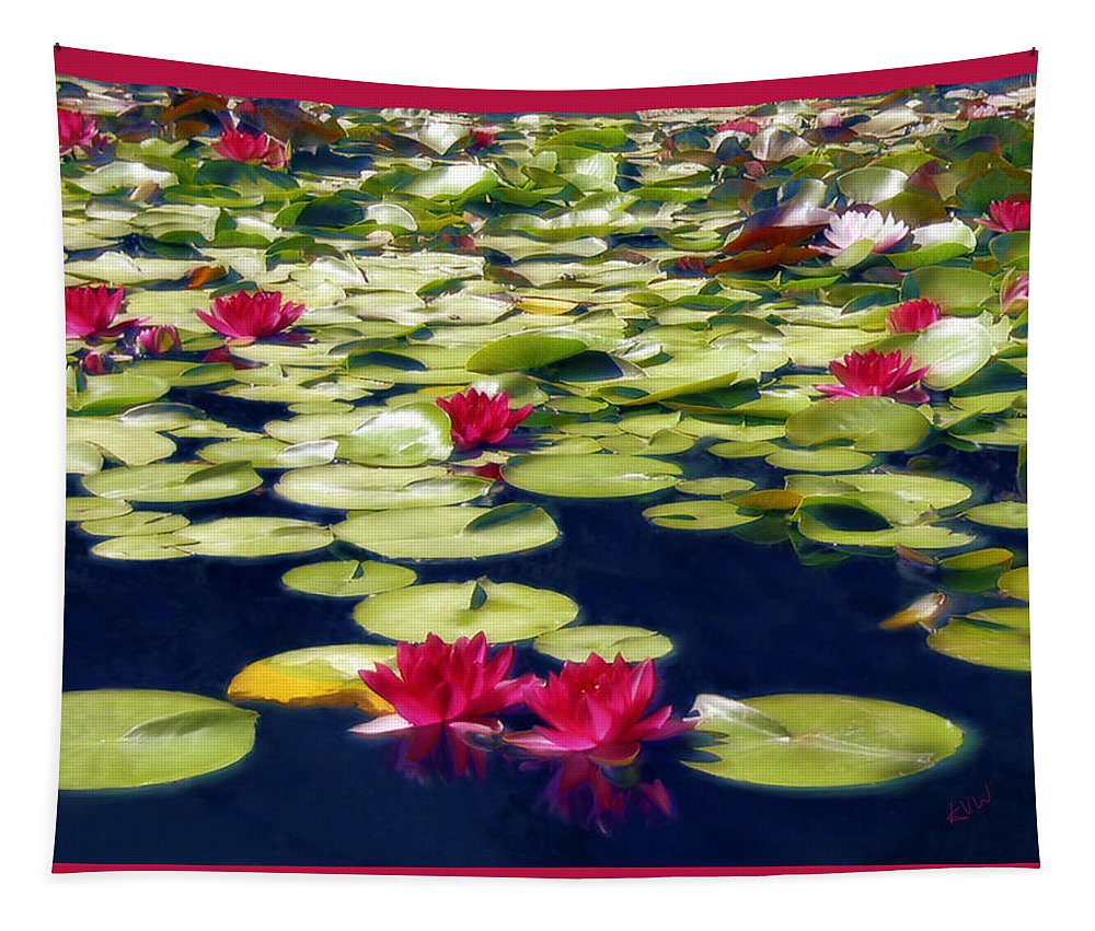 Lotus Tapestry featuring the photograph Lotus Dream by Kurt Van Wagner