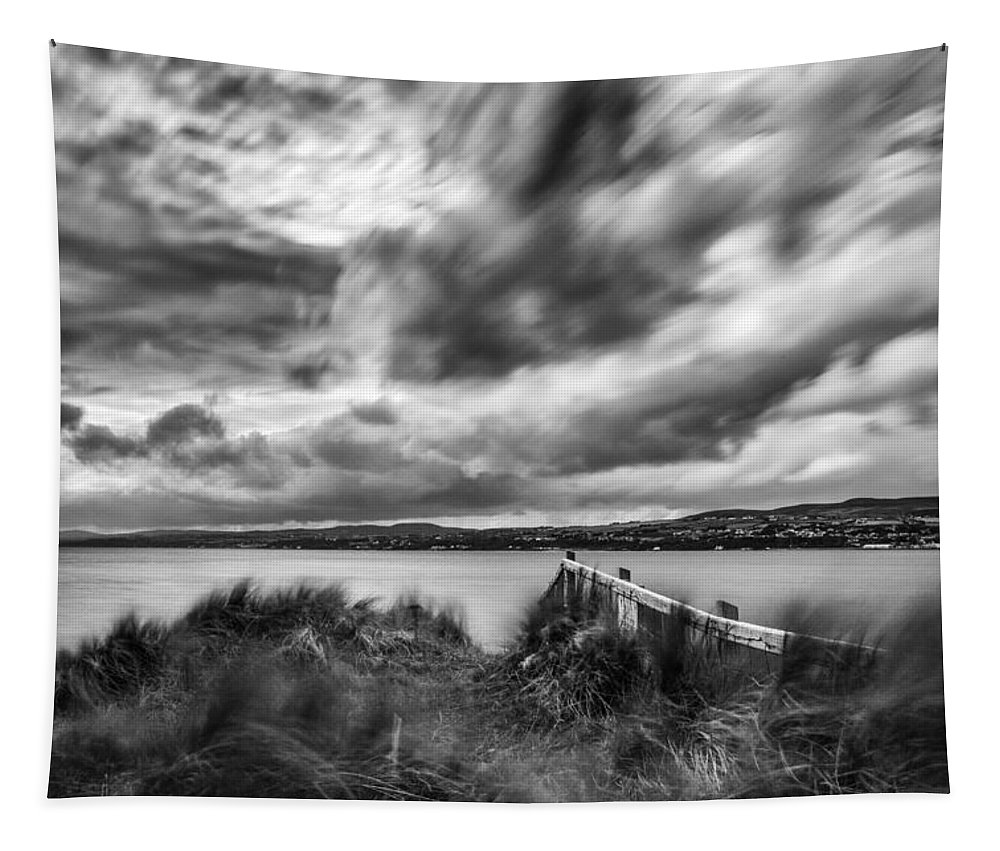 Lough Foyle Tapestry featuring the photograph Lough Foyle View by Nigel R Bell