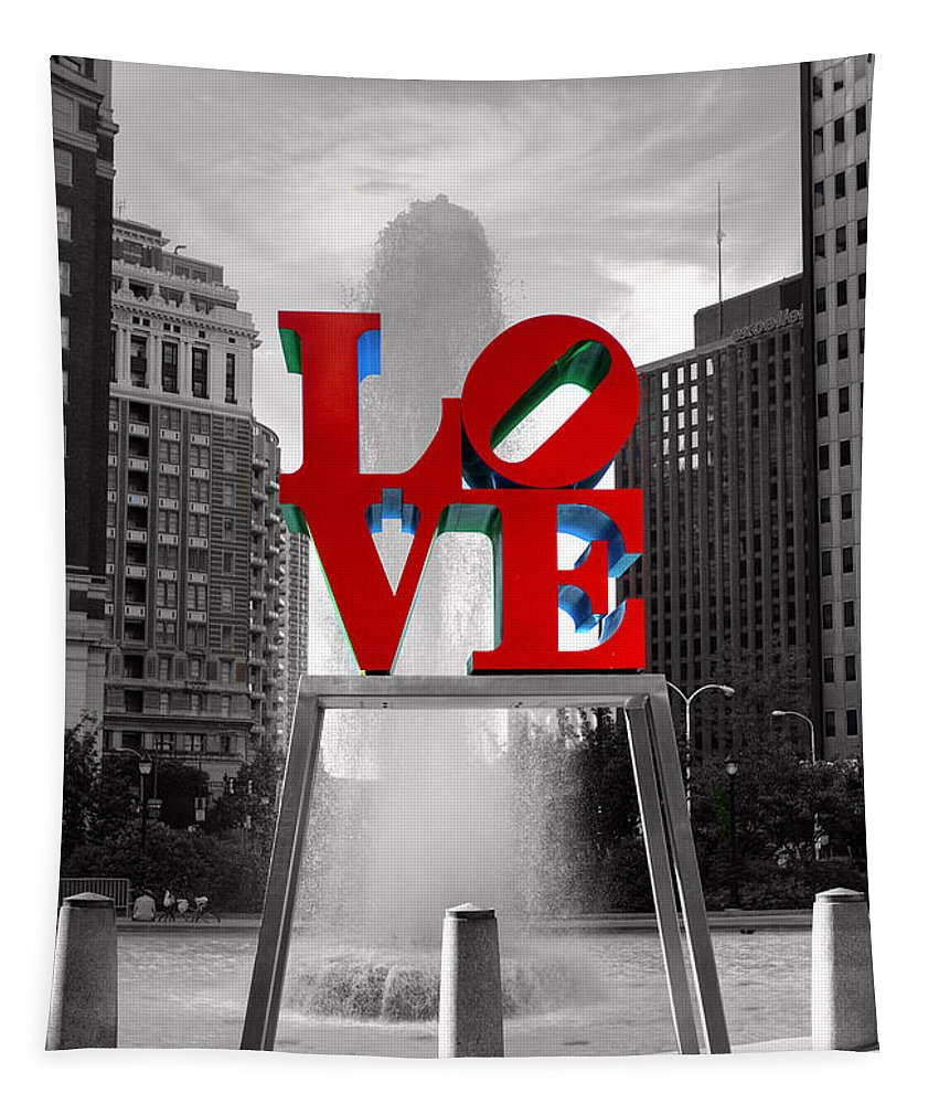 Paul Ward Tapestry featuring the photograph Love Isn't Always Black And White by Paul Ward