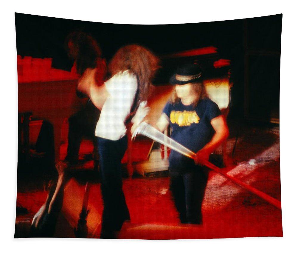 Allen Collins Tapestry featuring the photograph Ls #24 by Ben Upham