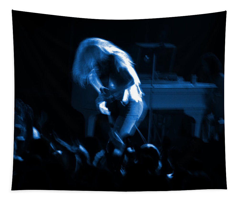 Lynyrd Skynyrd Tapestry featuring the photograph Ls Spo #79 Crop 2 In Blue by Ben Upham