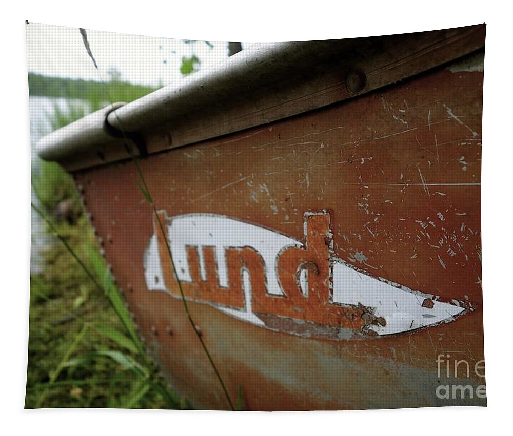 Lunds Tapestry featuring the photograph Lund Fishing Boat by Jacqueline Athmann