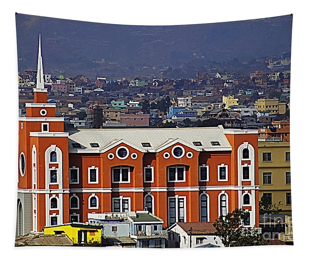 Madagascar Tapestry featuring the photograph Madagascar by Ben Yassa