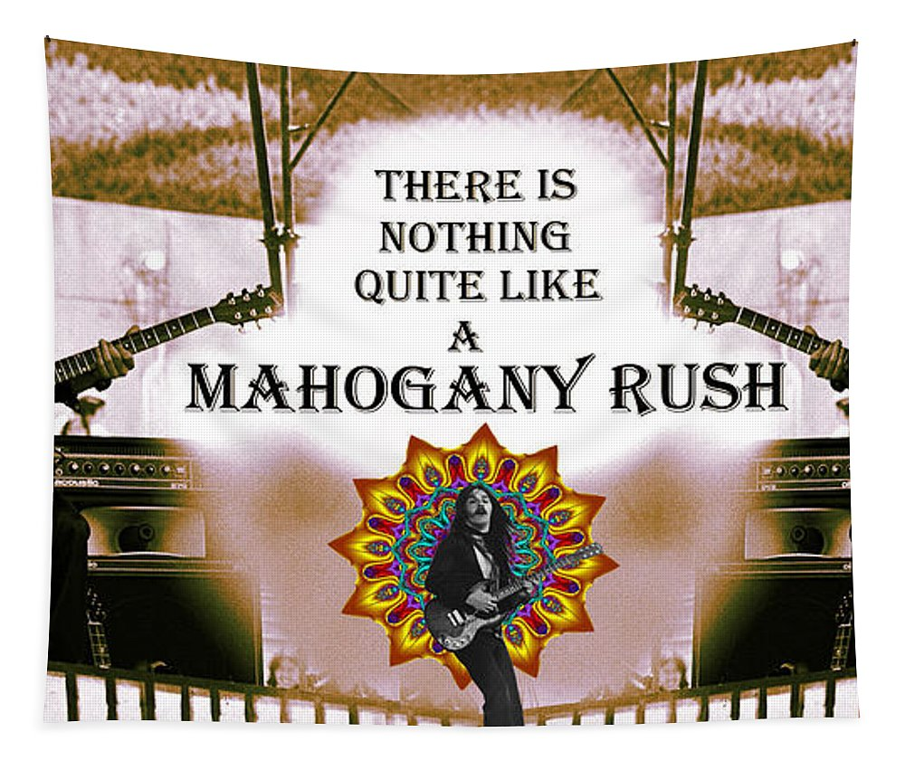 Mahogany Rush Tapestry featuring the photograph Mahogany Rush Art by Ben Upham