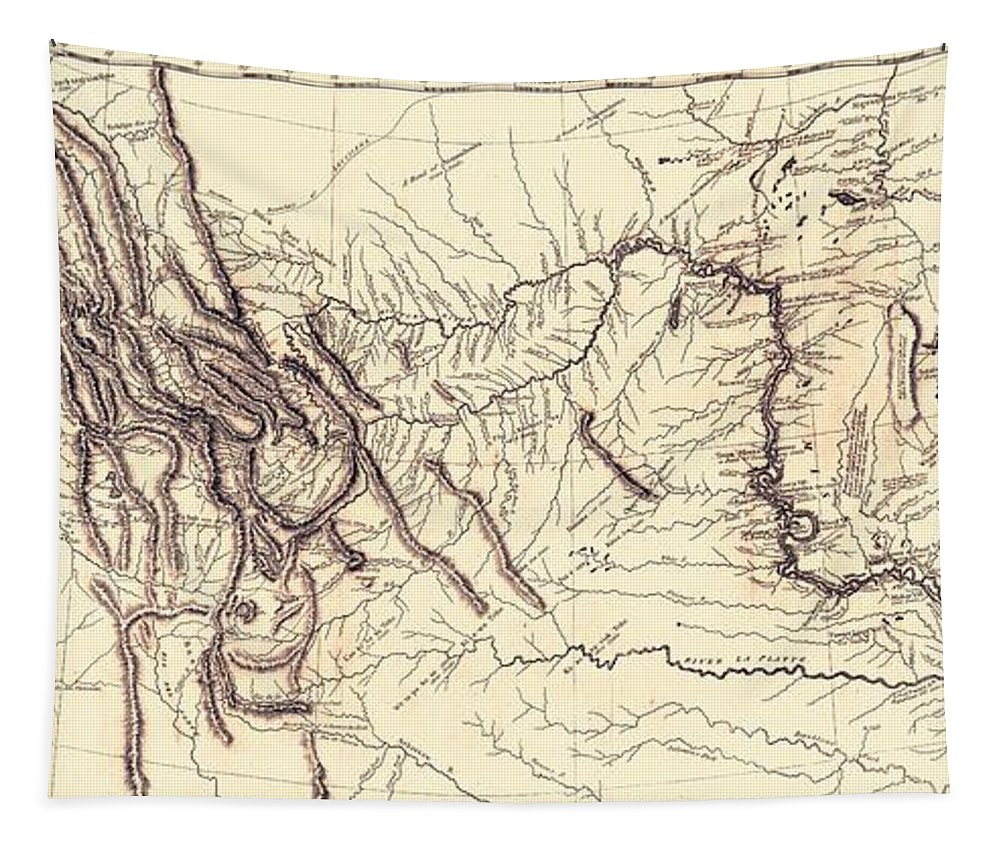 1804-1806 Map of Lewis and Clark Expedition Poster in 5 Sizes