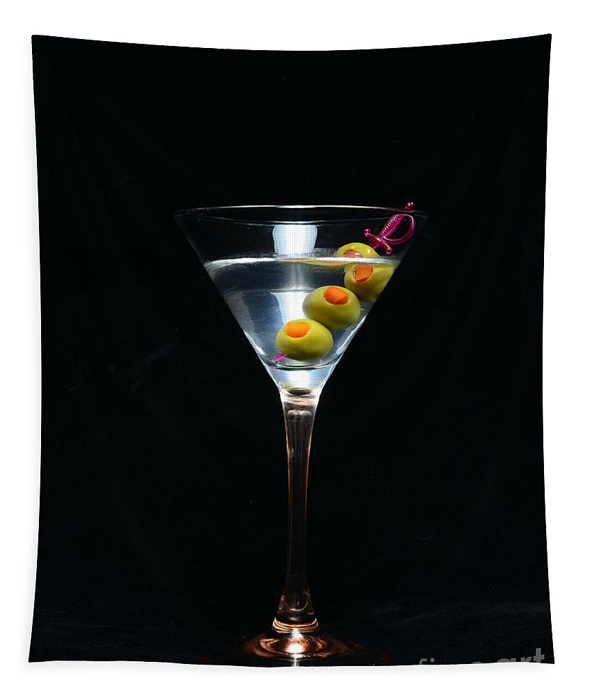 Paul Ward Tapestry featuring the photograph Martini by Paul Ward