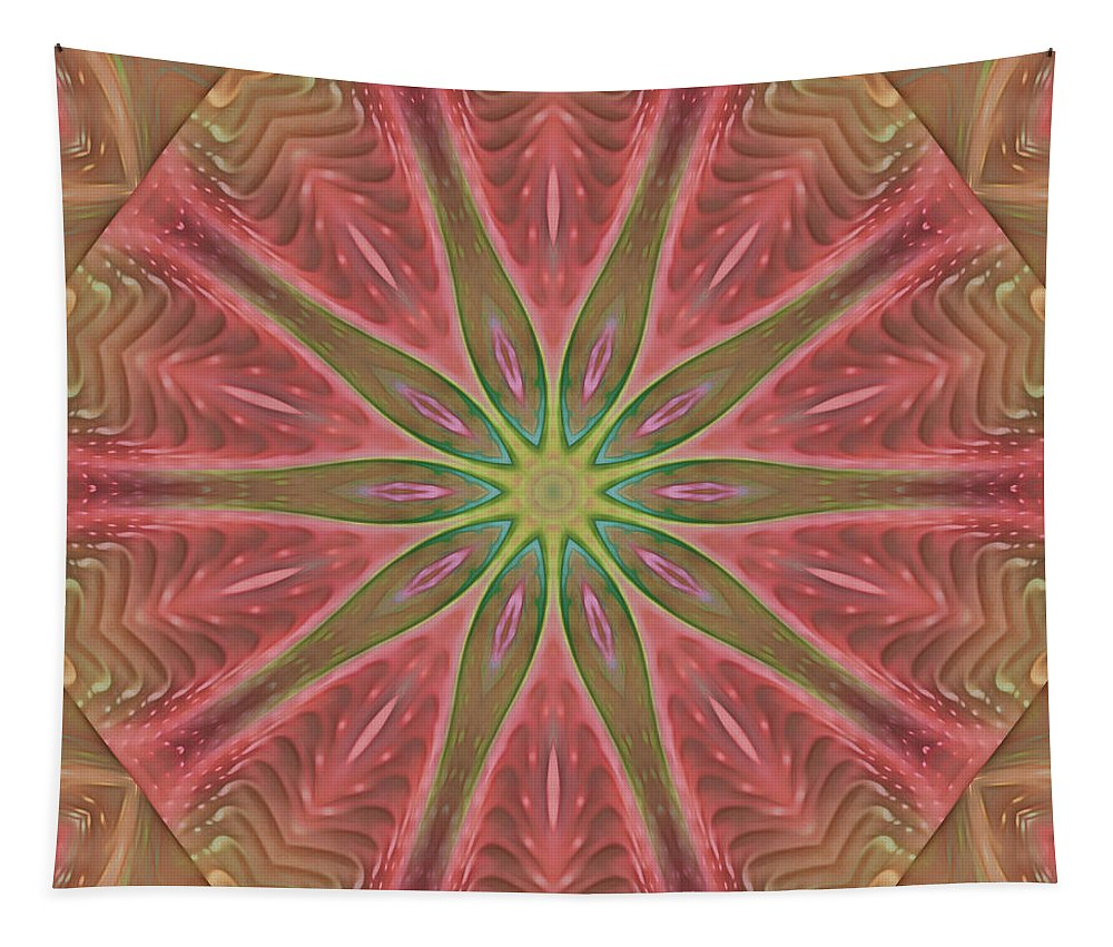 Fractal Tapestry featuring the digital art Meditation by Deborah Benoit