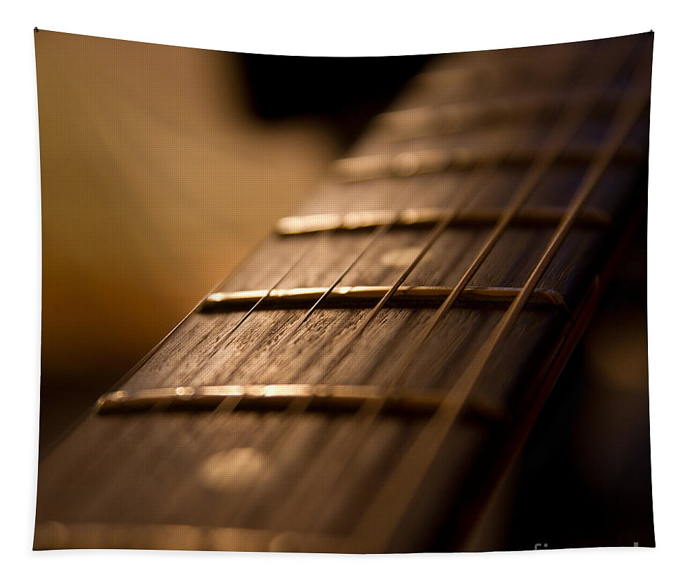 Abstract Tapestry featuring the photograph Melody by Stelios Kleanthous
