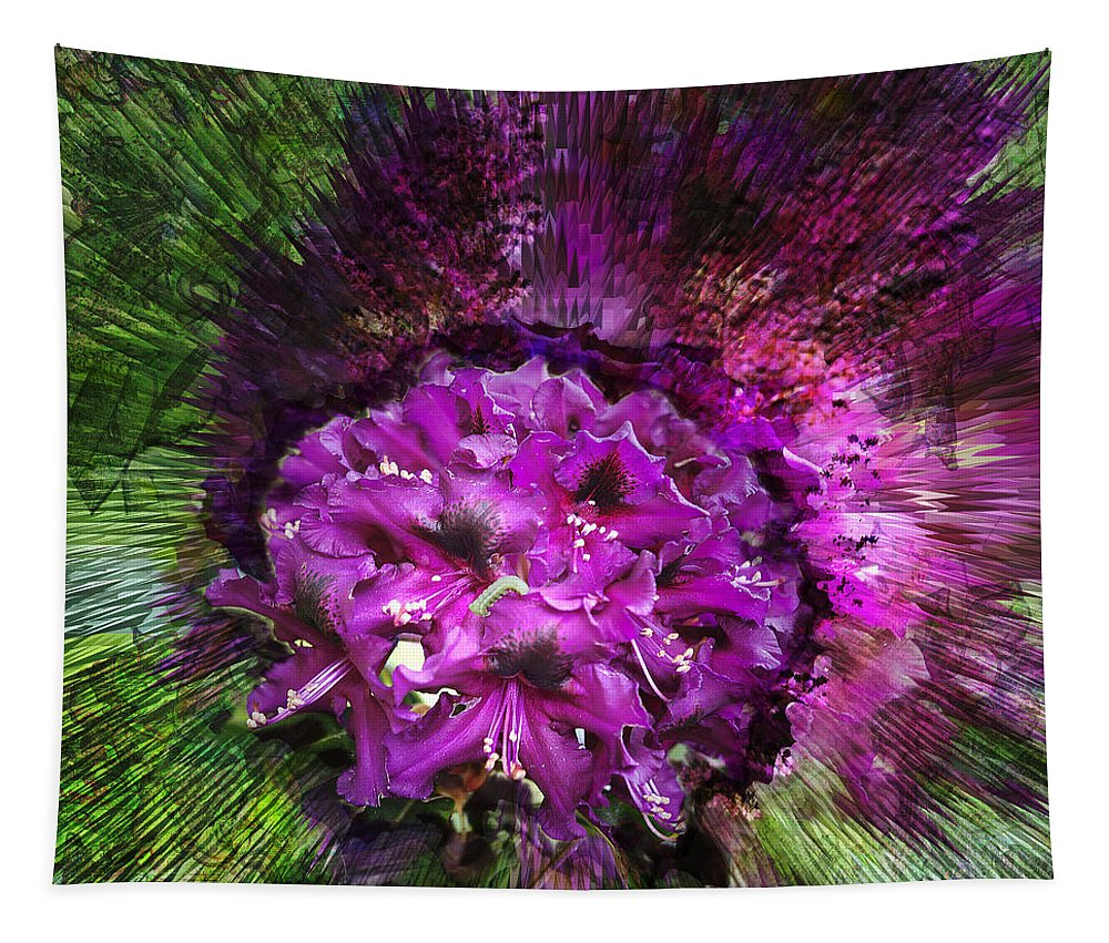 Flower Tapestry featuring the photograph Metamorphosis by Belinda Greb