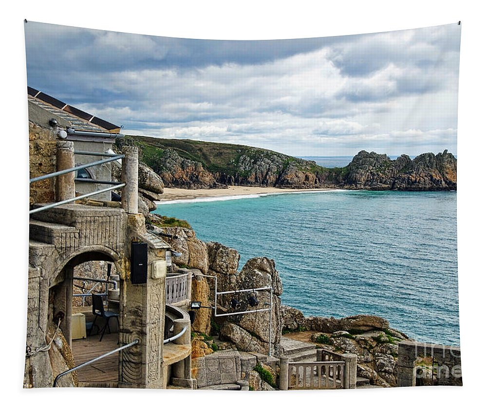 Minack Theatre Tapestry featuring the photograph Minack Theatre by Susie Peek