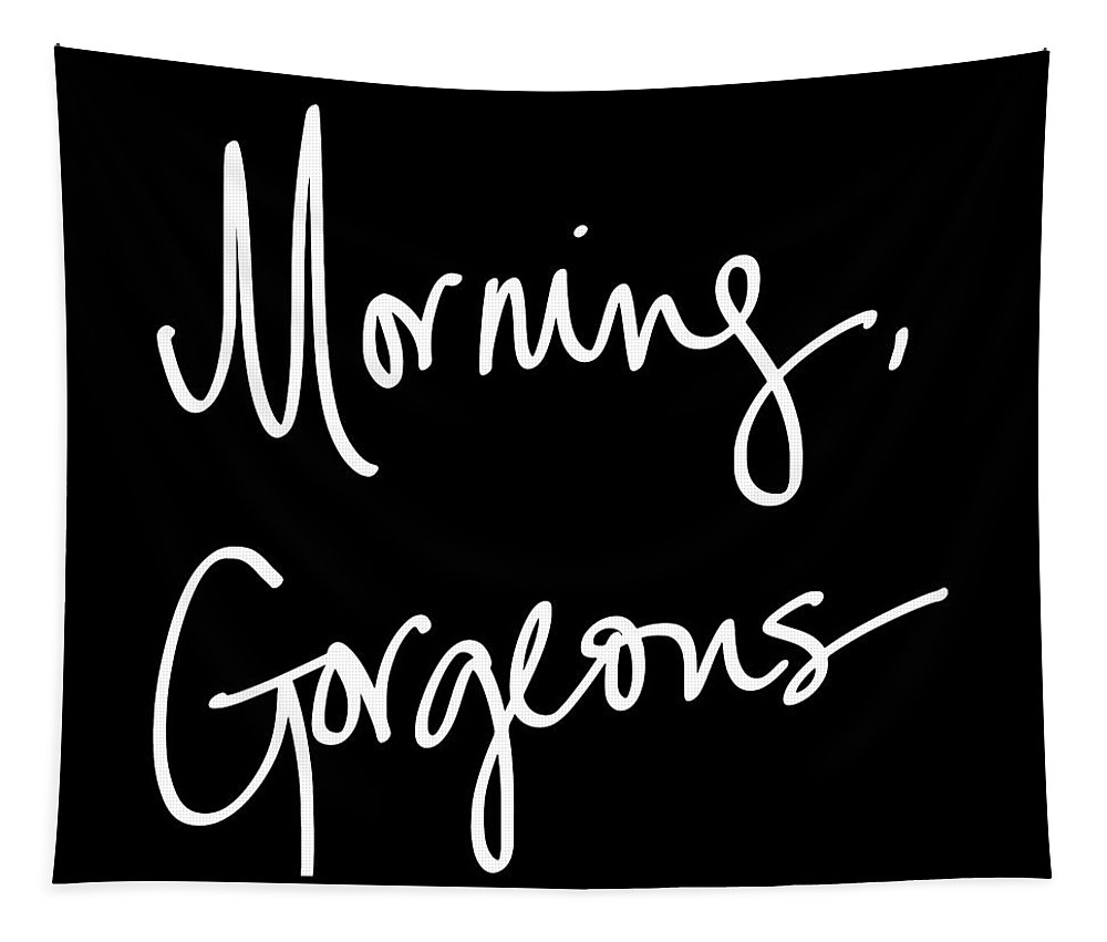 Morning Tapestry featuring the digital art Morning Gorgeous by South Social Studio