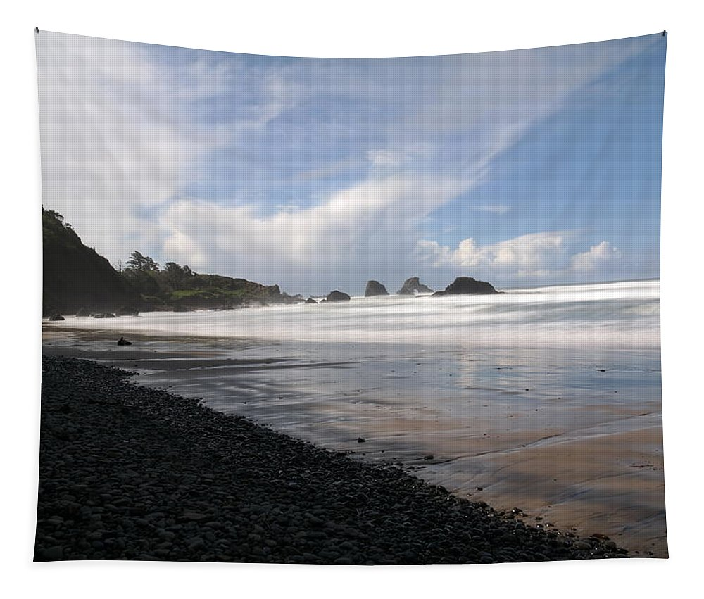 Ocean Tapestry featuring the photograph Morning Walk by Jeff Swan