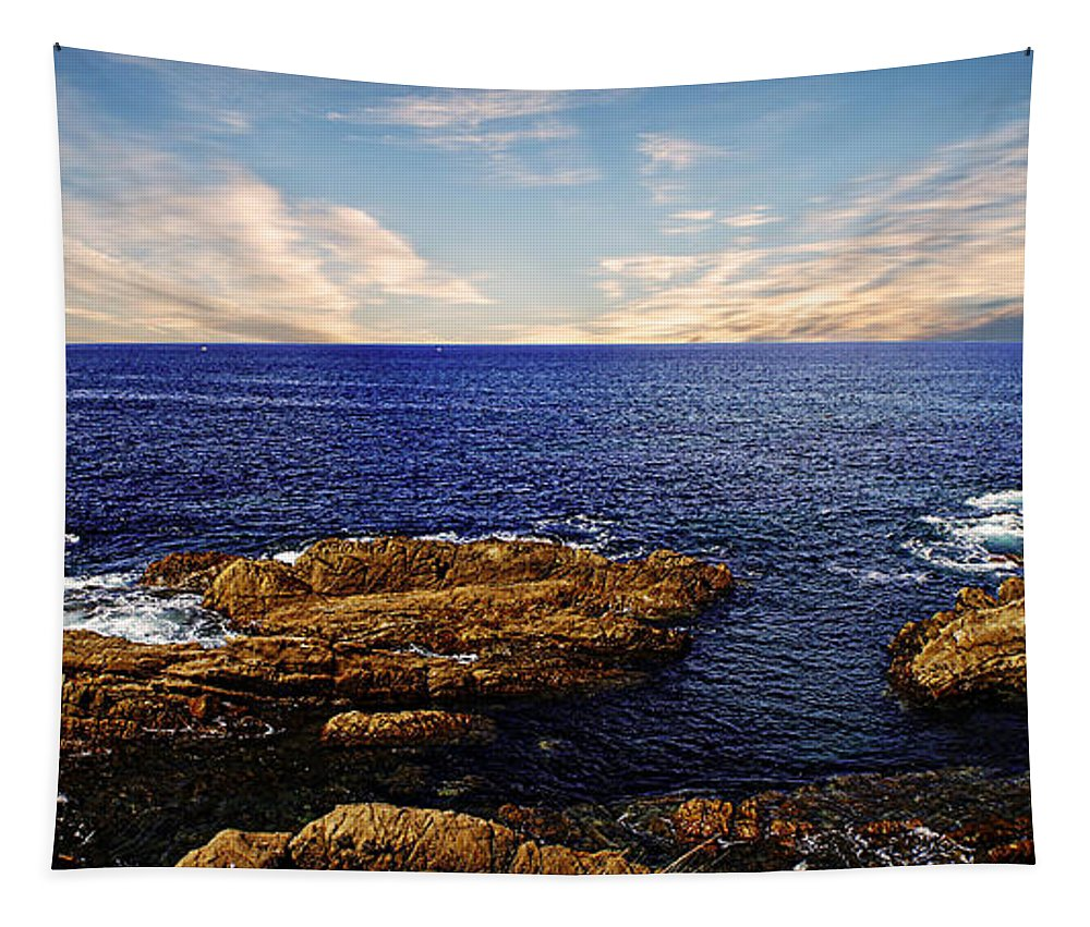 Mossy Point Tapestry featuring the photograph Mossy Point 2 by Ben Yassa