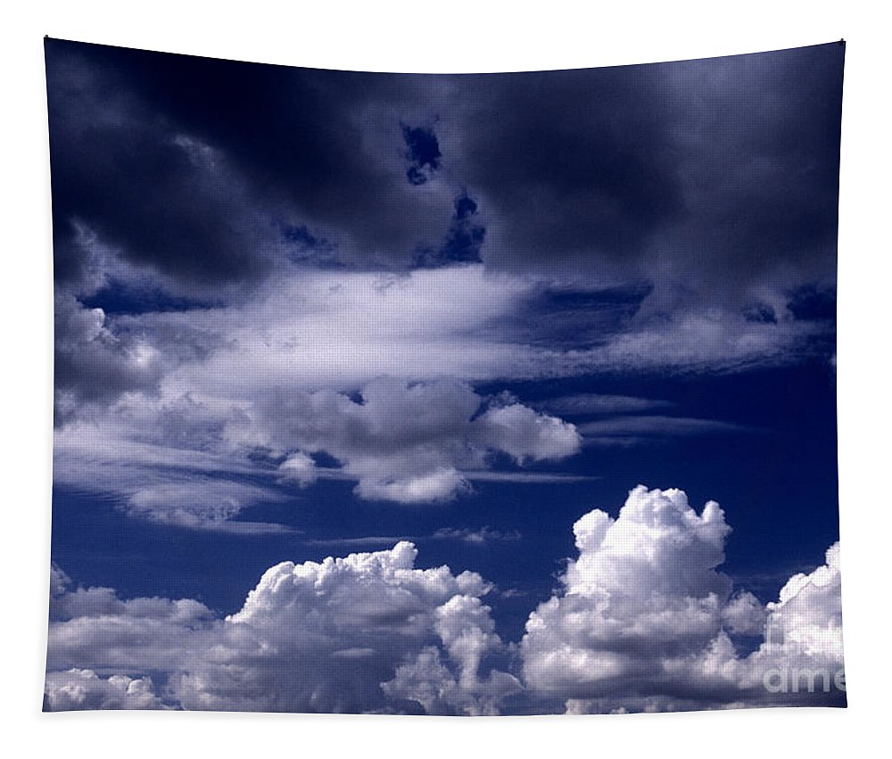 Horizontal Tapestry featuring the photograph Mountain Of Clouds by Paul W Faust - Impressions of Light