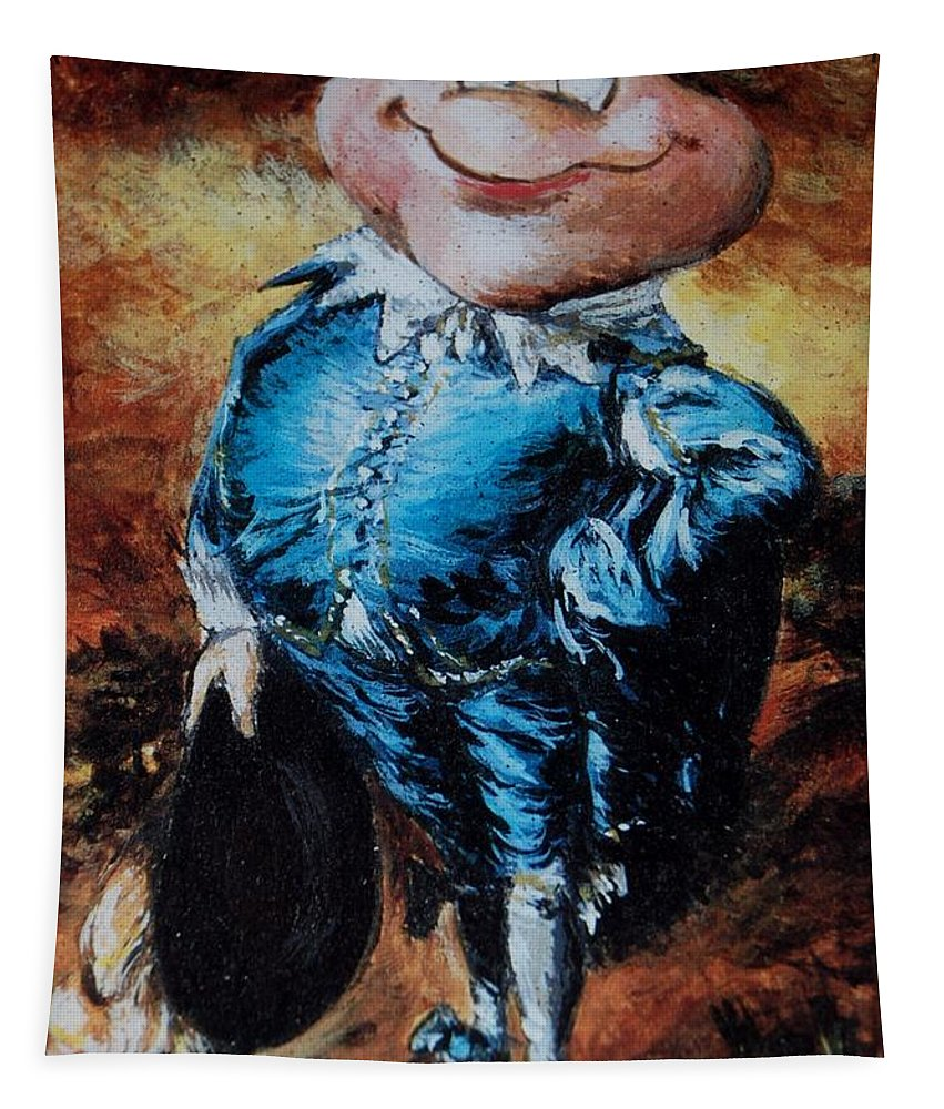 Mr Toad Tapestry featuring the photograph Mr Toad by Rob Hans