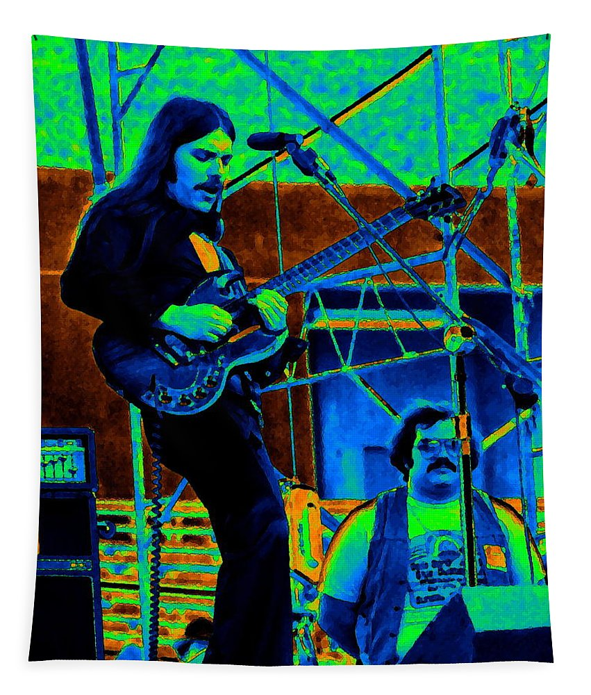 Frank Marino Tapestry featuring the photograph Mrdog #38 In Cosmicolors by Ben Upham