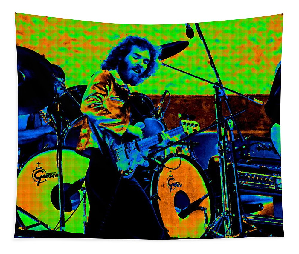 Paul Harwood Tapestry featuring the photograph Mrdog #41 In Cosmicolors by Ben Upham