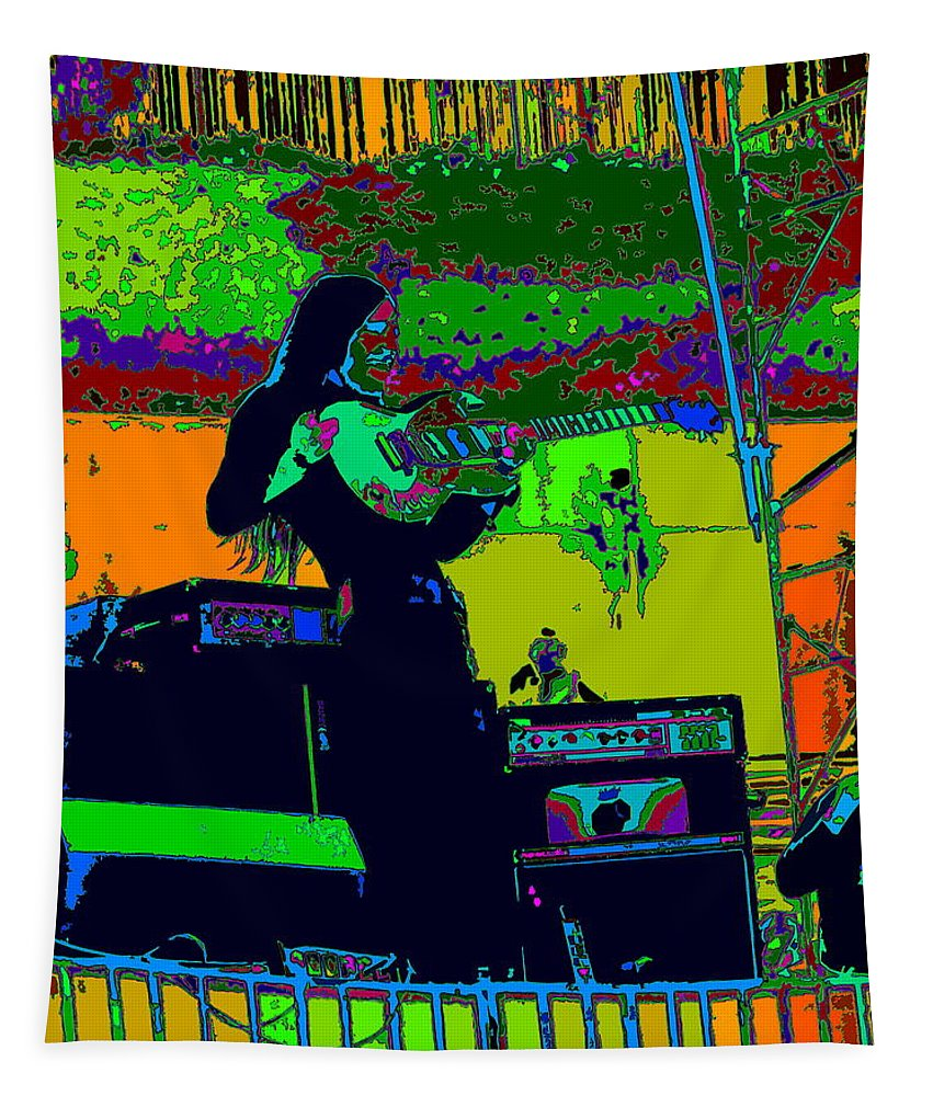 Mahogany Rush Tapestry featuring the photograph Mrdog #8 In Cosmicolors 2 by Ben Upham