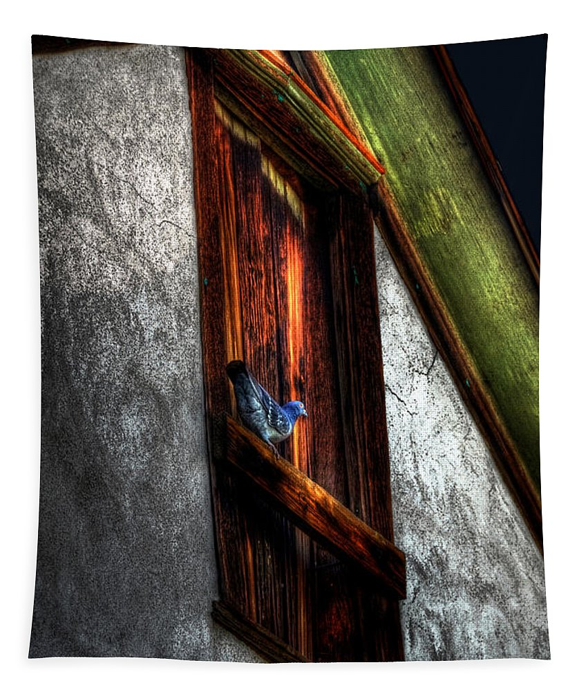 Birds Tapestry featuring the photograph Murmuring Sweet Nothings by Lois Bryan