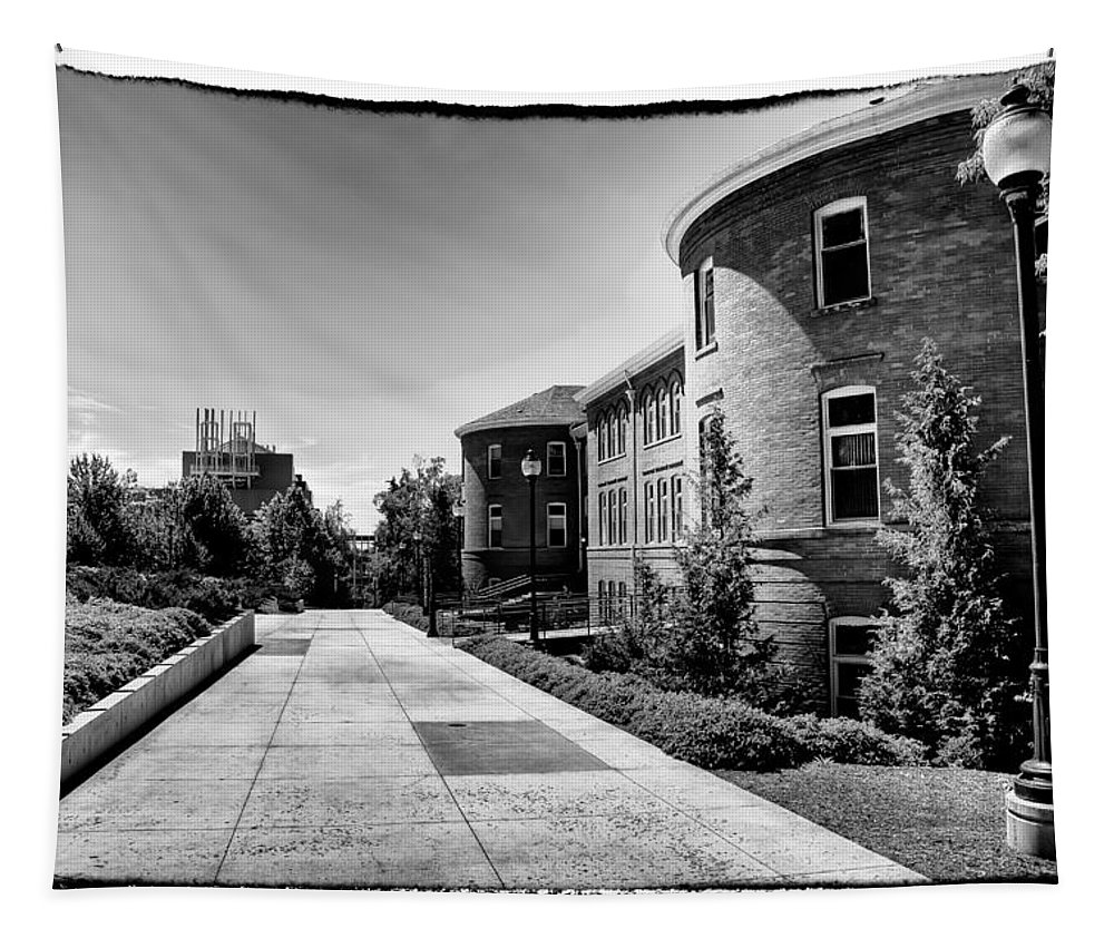 Murrow Hall Tapestry featuring the photograph Murrow Complex East - Washington State University by David Patterson